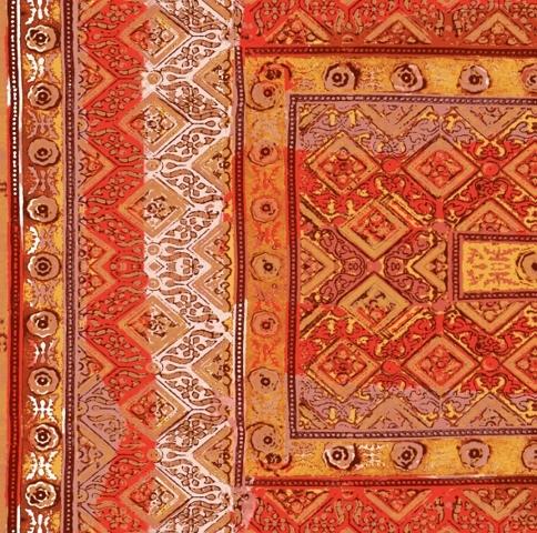 Foulards | Rajasthan VP 683 04 by Elitis | Wall coverings / wallpapers