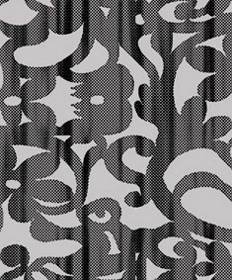 Tenue de soirée | Asphalt Jungle TP 151 04 by Elitis | Wall coverings / wallpapers