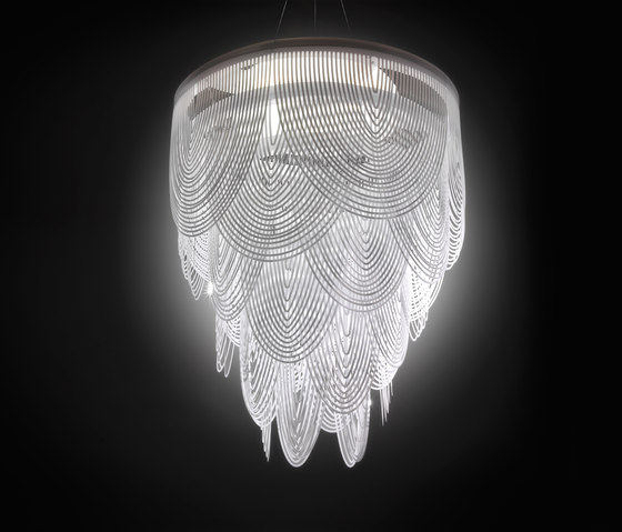 Ceremony XL by Slamp | Suspended lights
