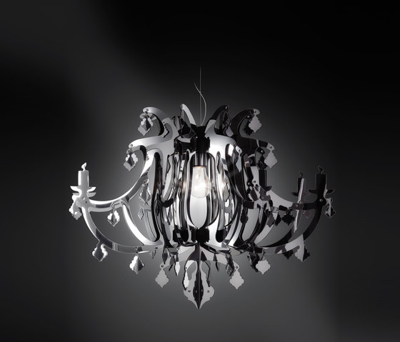 Ginetta by Slamp | Suspended lights