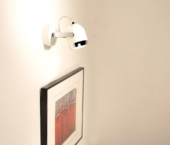 Boogie mini W1 Wall lamp by Luz Difusión | Wall-mounted spotlights