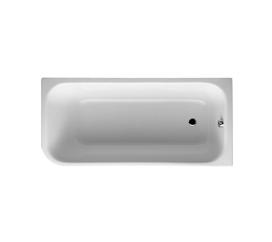 Mod Bathtub, corner left di VitrA Bad | Vasche ad incasso