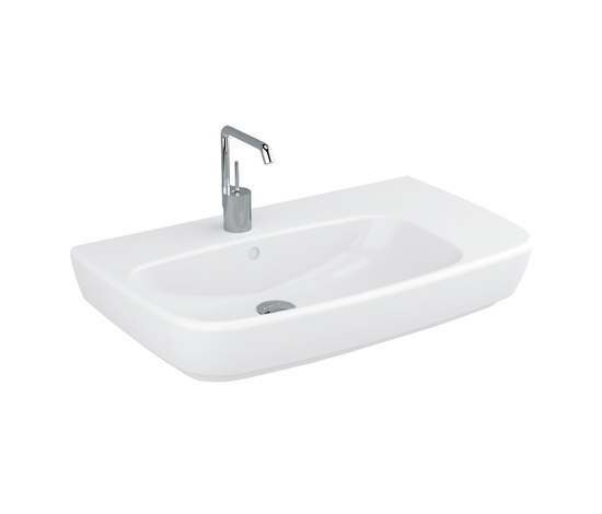 Shift Washbasin asymmetric by VitrA Bad   Wash basins