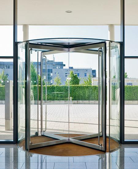 KTV Revolving doors by DORMA | Entrance doors