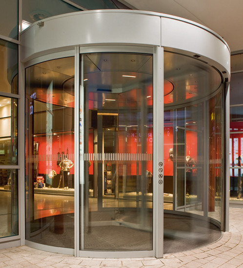 KTC Revolving doors by dormakaba | Entrance doors