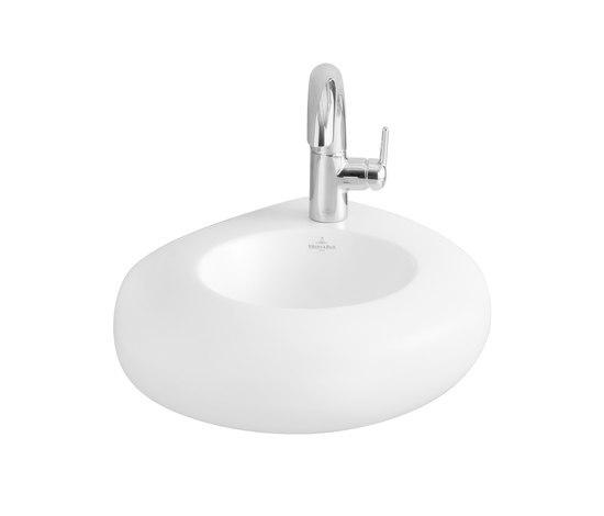 Pure Stone Handwashbasin by Villeroy & Boch | Wash basins