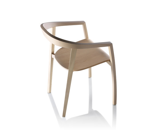 RO-Chair wood von Zilio Aldo & C | Restaurantstühle