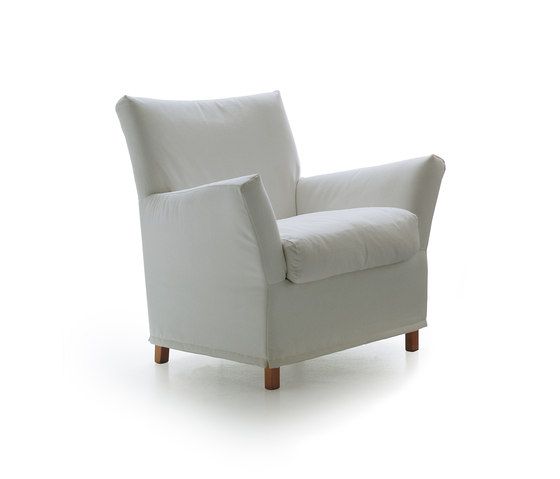Clotilde 1200 Armchair by Vibieffe | Lounge chairs