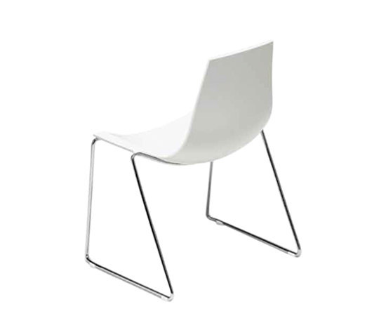 ELENA by Tramo | Visitors chairs / Side chairs
