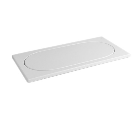 Istanbul Flat Shower tray, rectangular by VitrA Bad | Shower trays
