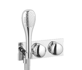 Istanbul Single lever shower mixer by VitrA Bad | Shower taps / mixers