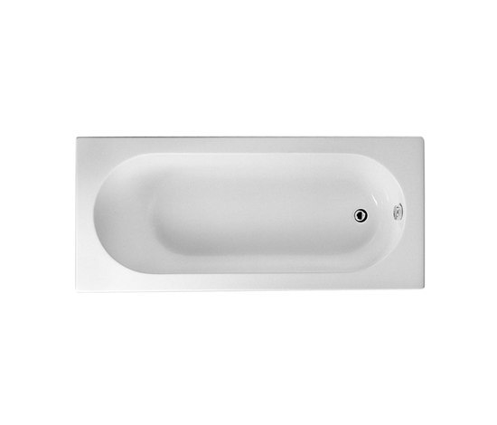 Options Matrix, Bathtub 170 x 75 cm by VitrA Bad | Built-in bathtubs