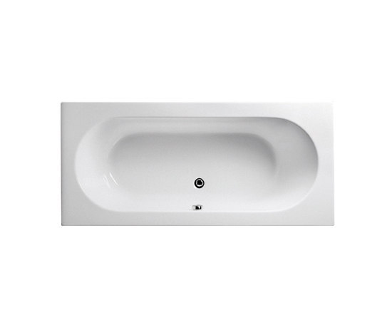 Options Matrix, Bathtub 180 x 80 cm de VitrA Bad | Baignoires encastrées