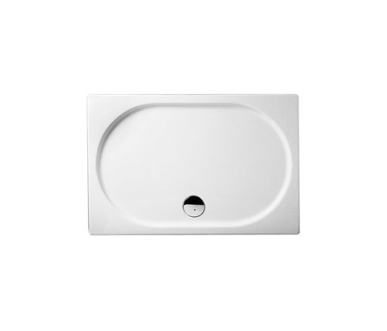 Options Matrix, Flat Shower tray, rectangular by VitrA Bad | Shower trays