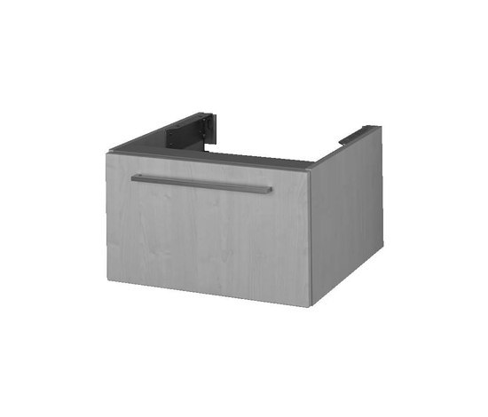 Options Washbasin unit for counter board by VitrA Bad | Vanity units