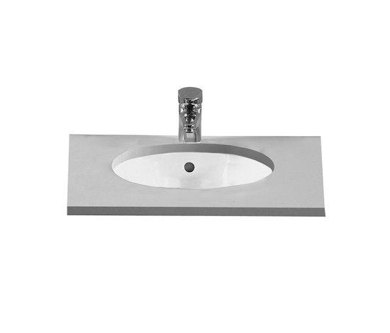 Options Pera Architecta, Undercounter basin by VitrA Bad | Wash basins