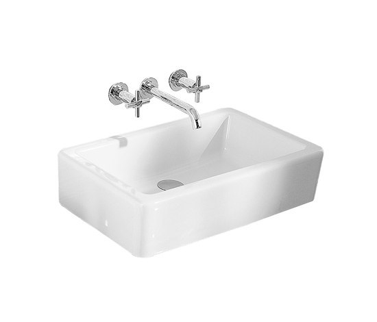 Options Nuovella, Counter washbasin by VitrA Bad | Wash basins