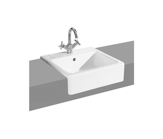 Options cloakroom mirror by VitrA Bad | Wash basins