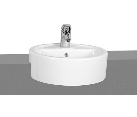 Options Matrix, Semi recessed basin by VitrA Bad | Wash basins