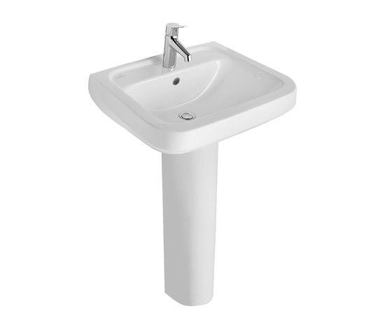 Lavabos lavabos omnia architectura semi recessed washbasin for Colecciones omnia
