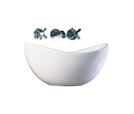 Options Juno, Counter washbasin by VitrA Bad | Wash basins