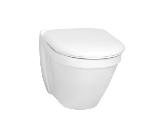 S50 Wall hung WC compact by VitrA Bad | Toilets