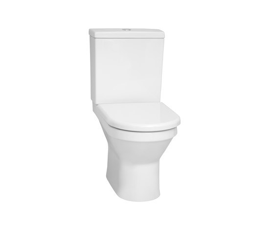S50 Floor standing WC open back by VitrA Bad | WC