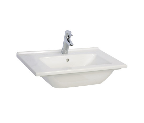 S50 Furniture washbasin, 60 cm by VitrA Bad | Wash basins