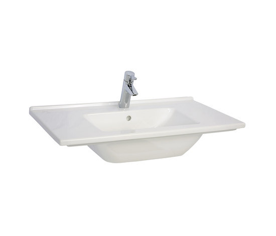 S50 Furniture washbasin, 80 cm by VitrA Bad | Wash basins