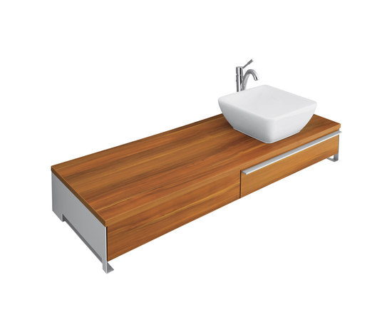 Shape Vanity unit for vanity washbasin by Villeroy & Boch | Vanity units