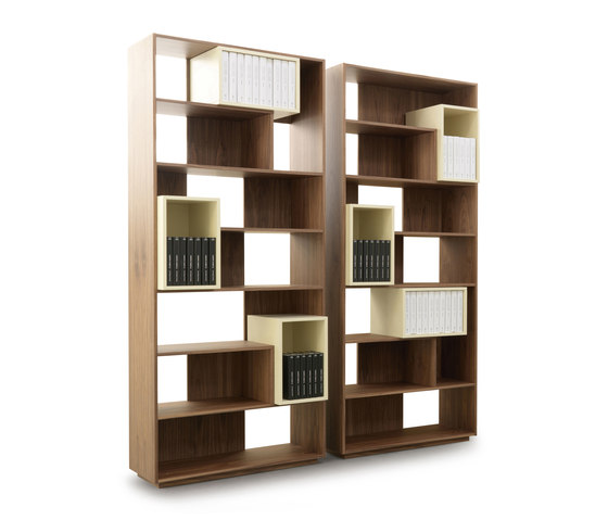 Puzzle 9700 Bookcase by Vibieffe | Shelving