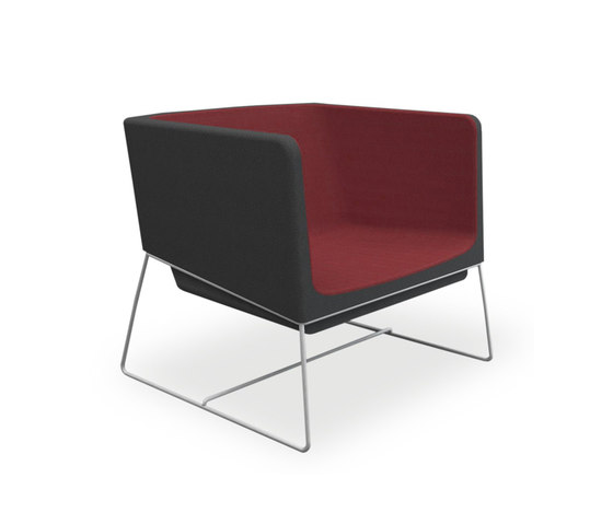 Tonic lounge metal de Rossin | Fauteuils
