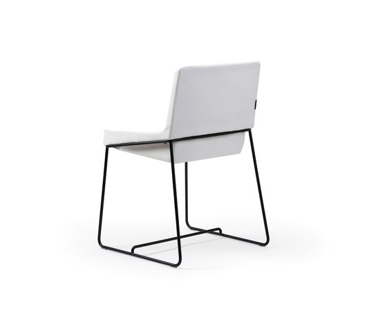 Tonic chair metal de Rossin | Sillas de conferencia
