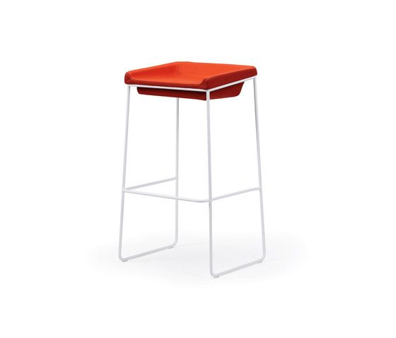 Tonic bar-stool metal de Rossin | Taburetes de bar