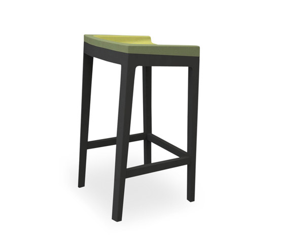 Tonic bar-stool wood by Rossin | Bar stools