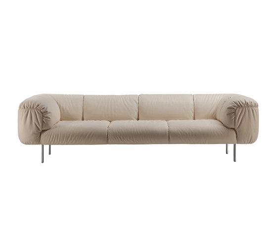 Bebop de Poltrona Frau | Sofás lounge