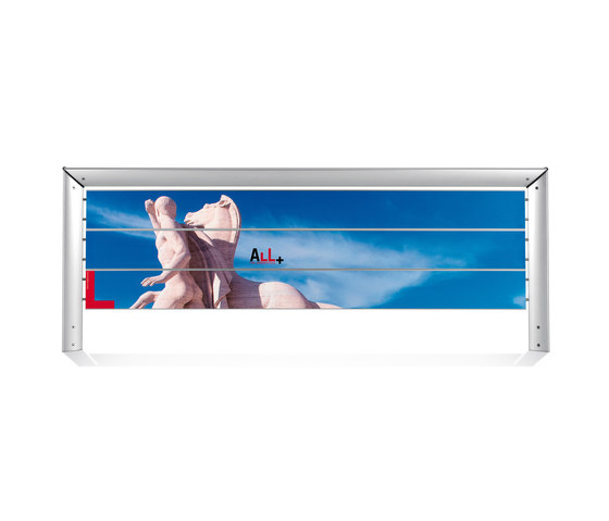 Loco Modular signage system by ALL+ | Media displays