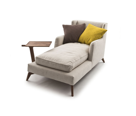 Class 680 Chaise longue by Vibieffe | Recamieres