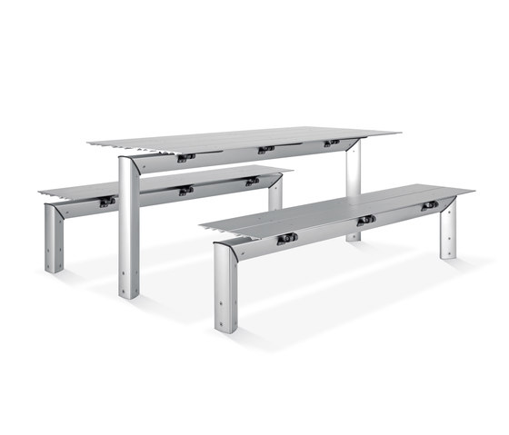 Loco Table by ALL+   Benches with tables
