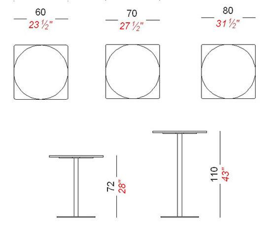 Brio by lapalma | Cafeteria tables