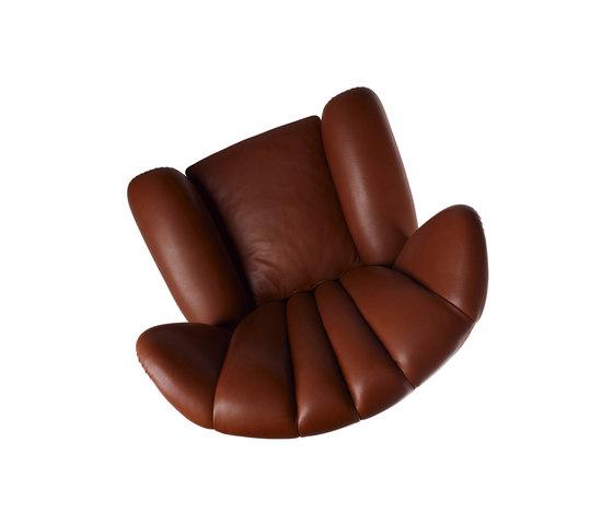 Savina by Poltrona Frau | Lounge chairs