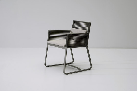 Landscape dining armchair by KETTAL | Garden chairs