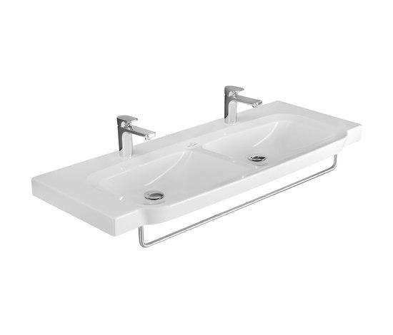 Sentique Vanity double washbasin by Villeroy & Boch | Wash basins