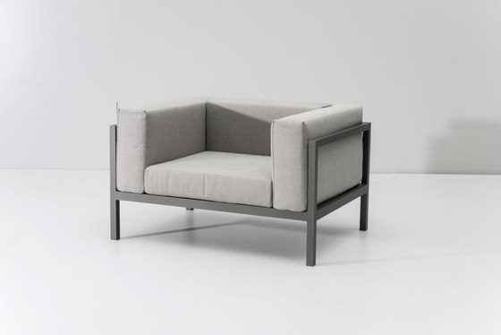 Landscape club armchair XL by KETTAL | Garden armchairs