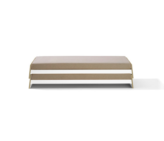 Lönneberga MDF stacking bed by Richard Lampert | Single beds