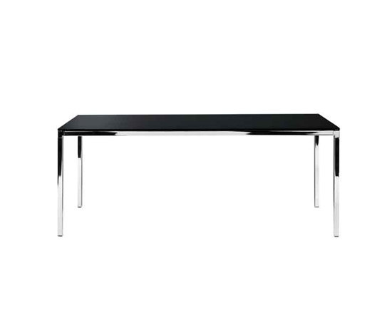 Helsinki rectangular table by Desalto | Meeting room tables