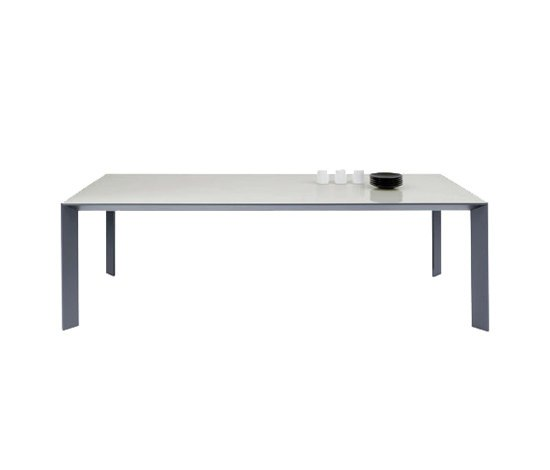 Mac rectangular table by Desalto | Dining tables