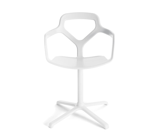 Trace sedia impilabile di Desalto | Sedie visitatori