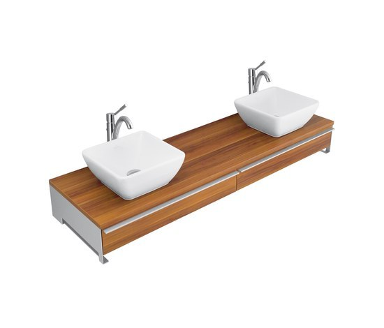 Shape Vanity unit for undercounter washbasin by Villeroy & Boch | Vanity units