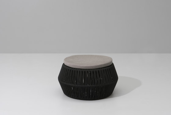 Zigzag pouf by KETTAL | Garden stools